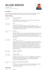 Hardware Engineer Sample Resume 19 Principal Samples