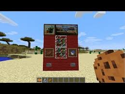 How To Build A Vending Machine In Minecraft Interesting Minecraft How To Make A Vending Machine Minecraft Vending