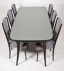 Italienisches Esszimmer Set Mit 6 Stühlen 1950er