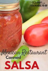 Easy Restaurant Style Canned Salsa Recipe