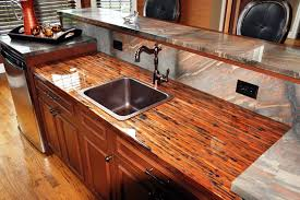 enchantment copper granite copper kitchen countertops stunning countertops