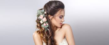 Top 4 Half Up Half Down Wedding Hairstyles Victoria S Glamour