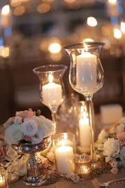 ... Stunning Image Of Wedding Table Decoration With White And Gold Table  Centerpiece : Breathtaking Accessories For ...