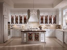 Glass kitchen cabinet doors Antique Room Details Kraftmaid Maple Kitchen In Dove White With Palladia Glass Doors Kraftmaid
