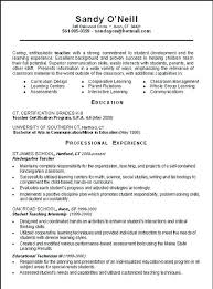 Preschool Teacher Certification Substitute Teacher Resume Example ...