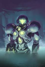 Metroid Light Suit Metroid Prime 2 Light Suit With Time Lapse By Razputin93