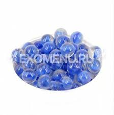 Купить <b>Грунт</b> стеклянный Triton №16, прозрачный голубой, 50 шт ...