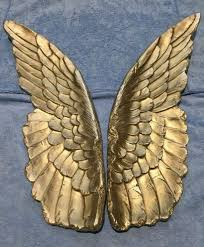 parlane champagne gold angel wings