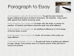 writing essays ppt  paragraph to essay intro paragraph ends thesis statement though the early colonists