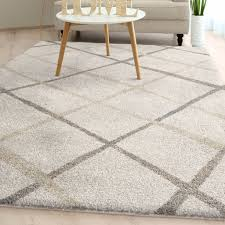 area rugs withyditch plush ivory area rug