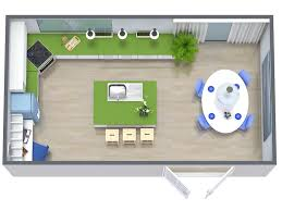 RoomSketcher Kitchen Remodel Floor Plan