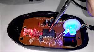 inside an optical mouse