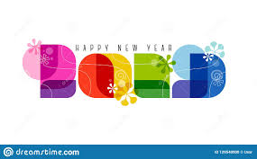 60s Graphic Design Style 60s Retro Style Numbers 2019 And Happy New Year Greetings