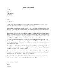 Leniency Letter To Judge Template Velorunfestival Com