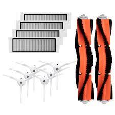 6PCS Side Brush + 4PCS HEPA Filter + <b>2PCS Main Brush</b> for ...