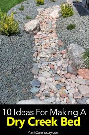 Dry Stream Garden Design 10 Ideas On Making Your Own Dry Creek Bed