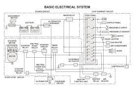 322 electrical system caterpillar 1 posneg disconnect switch battery alternator breaker main relay starter relay neutral start relay starter motor starter