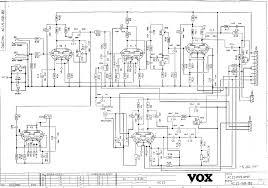 vox vintage circuit diagrams diagram