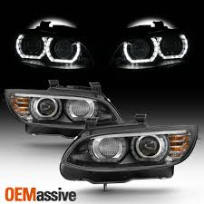 Led Lights For 2013 Bmw 328i Details About Hid Xenon For 07 10 Bmw 328i 335i 3 Series Coupe Led Projector Black Headlights
