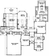 5 Bedroom House Plans Big House Plans For Large Families  LuxamccLarge House Plans