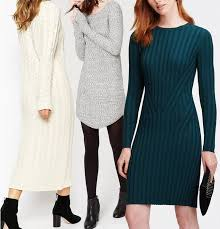Sweater Dresses LEAD