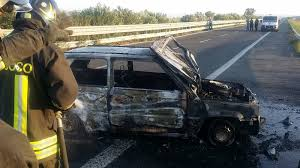 Paura sulla Foggia - Candela: assaltato furgone portavalori