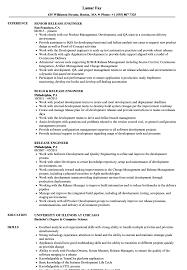 Release Engineer Resume Samples Velvet Jobs