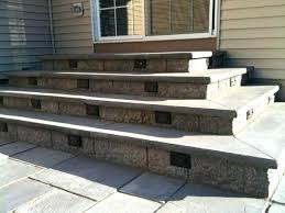 literarywondrous building stone patio steps diy paver patio steps