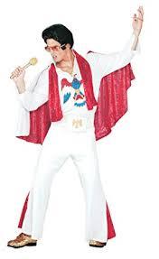 Amazon Com Pony Express Mens Deluxe Jumpsuit Outfit Elvis