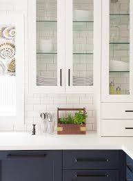 glass shelving in glass front cabinets