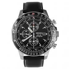 ssc009p3 seiko flightmaster solar chronograph watch ssc009p3 seiko solar chronograph alarm flight watch