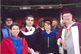 Graduation '07, left to right: Alec Soucy, Magi Abdul-Masih, Zack Churchill, Anne-Marie Dalton, Paul Bowlby. Academics · Faculty of Arts - StudentsImage1