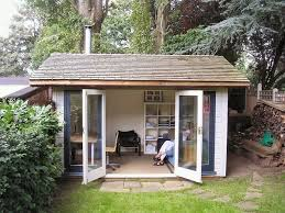 Small Picture Small Garden Office Shed