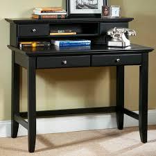 contemporary writing desk black