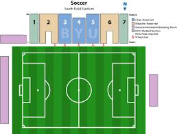 Byu Seating Chart South Field Stadium Byu Tickets