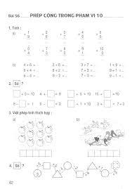 Vở Bài Tập Toán Lớp 1 Tập 1 - Phép cộng trong phạm vi 10 | Bài tập, Toán học,  Tiếng hàn quốc