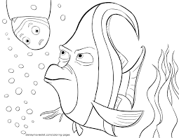 Introducing Finding Nemo Coloring Pages Pdf Kids Awesome Of Images