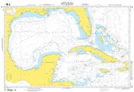 Mexico Navigation Charts Nga Nautical Chart 401 Gulf Of Mexico