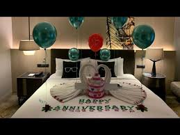 anniversary room decoration ideas at