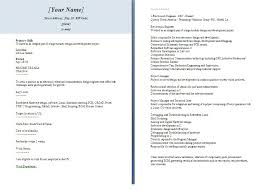 Electronic Resume Sample Guidelines Scannable Format Luxury 1240 X