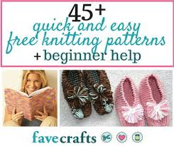 Free Easy Knitting Patterns Impressive 48 Easy Free Knitting Patterns For Beginners FaveCrafts
