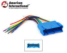 cadillac deville radio gm car stereo cd player wiring harness wire aftermarket radio install plug fits cadillac