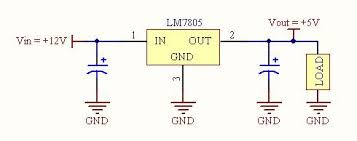 schematic the wiring diagram using a step down converter instead of a linear voltage regulator schematic