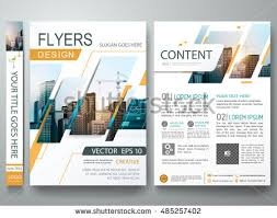 brochure design template vector flyers report business magazine poster minimal portfolio abstract square in