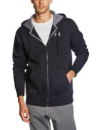 under armour jumper. under armour men\u0027s charged cotton storm rival full zip hoodie: amazon.co.uk: sports \u0026 outdoors jumper