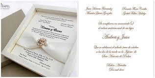 formato de invitaciones de boda las invitaciones de boda protocolos blog de inbodas