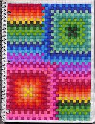 Rainbow Quilt Art Journal Pinterest Graph Paper Art Art And