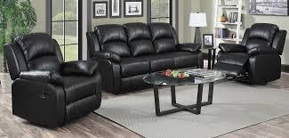 jordan 3 1 1 seater black recliner