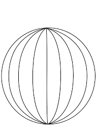 Big blue wire globe without wireframe clip art at clker vector