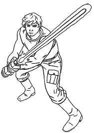 Small Picture Luke Skywalker Colouring Pages Anfuk Co Within Coloring Page